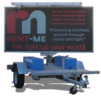 Rent Me Solar Video Board